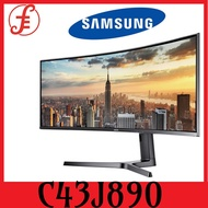 Samsung C43J890 43.4 32:10 Ultra-Wide Curved 120 Hz LCD Monitor