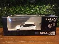 1/64 BM Creations Suzuki Swift 1989 White 64b0028【MGM】