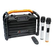 《可議價85折》SANSUI山水【SS2-K55】重低音戶外手提行動KTV音響