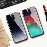 手機殼oppor17手機殼ins冷淡風玻璃殼r17全包矽膠