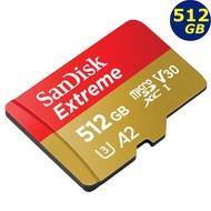 SanDisk 512GB 512G microSDXC Extreme 160MB microSD SD 4K 記憶卡