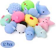 Mr. Pen- Squishy Toys, 12 Pack, Squishy, Squishes for Kids, Squishy Toy, Squishy Pack, Squishes, Squishy Animals, Mochi Squishy, Stress Relief Toy, Mini Squishes, Animal Squishies, Small Toys for Kids