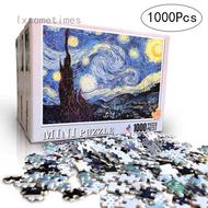 lxsometimes  []youngxilive New Children Adult 1000 Pcs Paper Jigsaw Puzzles Landscape Paintings Puzzle Children Jigsaws