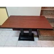 營業用餐桌加厚底腳二手4尺和2尺全帶1200三張