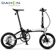 """Dahon bicycle K3plus 16"""" Mini Ultra Light Speed Disc Brake Folding Adult Male and Female Bicycle"""