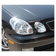 ~圓夢工廠~ Lexus GS300 GS400 1998~2005 鍍鉻車燈框 前燈框 大燈框 頭燈框 鍍鉻銀飾框貼