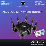 ASUS ROG Rapture GT-AX11000-Tri-Band Wifi Gaming Router Wifi 6 Gaming Port (3Y)