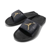 NIKE服飾系列-JORDAN HYDRO 7 V2 男款黑色休閒拖鞋-NO.BQ6290007