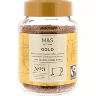 [Shop Malaysia] Marks & Spencer Gold Decaf Instant Coffee 100g