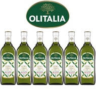 【Olitalia奧利塔】超值特級初榨橄欖油禮盒組(1000mlx6瓶)