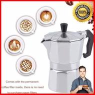 Coffee Gotcha Moka pot หม้อต้มกาแฟ เครื่องต้มกาแฟสด ทำกาแฟที่บ้าน [ด่วน ของมีจำนวนจำกัด]
