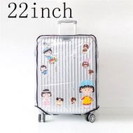 "22 ""/24""/26 ""Universal โปร่งใสกันน้ำป้องกันกระเป๋าเดินทางกระเป๋าเดินทางกระเป๋าเดินทาง"