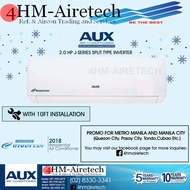AUX AIRCON 2.0 HP J-Series Split Type Inverter ( MODEL: ASW-18A2/JADI | AS-18A2/JADI )