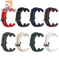 Deceble Silicone Watch Strap Band Replace for Huami Amazfit T-Rex Pro/Amazfit T-Rex