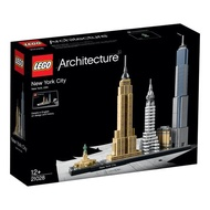 LEGO 樂高 Architecture New York City 21028, Skyline Collection, Building Blocks