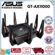 Asus GT-AX11000  Tri-band WiFi 6 (802.11ax) Gaming Router (1148 + 4333 + 4804Mbps) AiMesh Supported