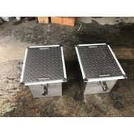 50*40*35白鐵截油槽、白鐵水溝、鈻製水溝蓋、截油槽、排水溝、水溝油污處理、不鏽鋼排水糟、排水溝糟