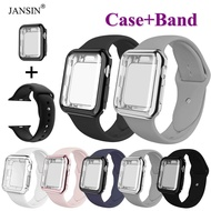 Sport Strap For Apple Watch 40mm Band Case For Apple Watch Series 6 SE 5 4 40mm Soft Silicone Outdoor Sports Watch Band
