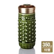 乾唐軒活瓷 ‧乾坤隨身杯( 大 / 特雙 / 綠)