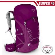 OSPREY 女新款 Tempest 40L 輕量透氣健行登山背包(S/M)_神秘紫 R