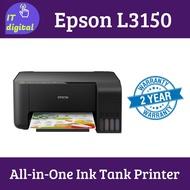 Epson Printer EcoTank L3150 Wi-Fi All-in-One Ink Tank Printer