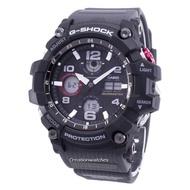 Casio G-Shock Mudmaster Tough Solar 200M Men's Black Resin Strap Watch GSG-100-1A8