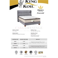 [Free Delivery] King Koil Emerald Mattress/Tilam (King/Queen/SuperSingle/Single) (15 Years Warranty)