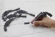 台南 武星級 左輪 手槍 造型 原子筆 ( 狙擊槍造型筆BB槍玩具槍長槍模型槍中華民國ROC國軍創意小物文創生日禮物