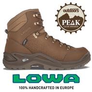 【LOWA 德國】Renegade GTX 標準版高筒防水登山鞋 男款 荳蔻棕 (LW310900-0472)