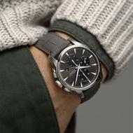 【HAMILTON 漢米爾頓】Jazzmaster Auto計時機械錶(H32586881)