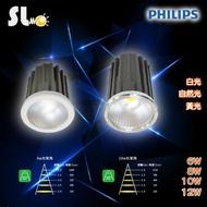 ღ勝利燈飾ღ MR16 6W 飛利浦 LED COB光源模組 杯燈 盒燈 崁燈 軌道燈 投射燈 保固2年