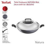 Tefal Natura Wok With Lid 34cm