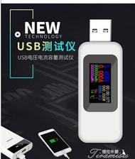 電壓表 高精度usb手機充電器電壓電流表電流檢測器移動電源容量測試儀