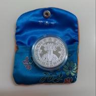 紫南宮正品 2020紫南宮鼠年錢母 (銀幣ㄧ枚)