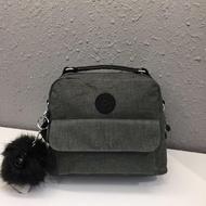 *多寶街*Kipling 猴子包 K2050/04472 牛仔深灰 輕量防水多夾層 休閒斜背包肩背側背手提雙肩後背包小包