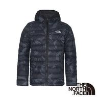 【The North Face】男 700FP防潑水羽絨外套S深藍