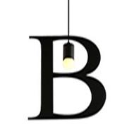 HONEY COMB 復古風英文字母吊燈 B版 TA0061