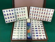 A1 Size All Ivory Colour Mahjong Set (Size of Tiles: 37mm x 28mm x 22m)