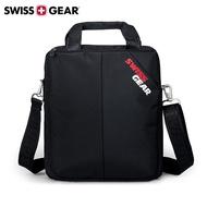【SWISSGEAR 】瑞士軍刀 SG-60 單肩包 斜跨包 10吋iPad 平板 休閒包 方形 尼龍 黑色