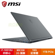 MSI Modern 14 A10RAS-1042TW 微星創作者輕薄精品筆電/i7-10510U/MX330 2G/16G/1TB PCIe/14吋FHD IPS/W10-PRO/白色背光鍵盤/含包包及滑鼠
