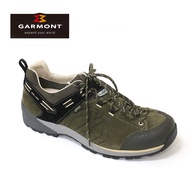 GARMONT 男款 Gore Tex低筒郊山健走鞋Santiago Low GTX 481241/211 橄欖綠 / 城市綠洲 (登山鞋、GORETEX、防水、黃金大底UK7