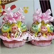 P45 水果籃(中籃1對) 告別式水果籃~台北市水果籃