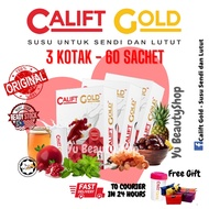 [Shop Malaysia] Calift GOLD -ORIGINAL- Milk For Joints And Knees🔥Free Gift🔥 Cheap 🔥Pra Mixed Goat Milk
