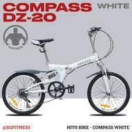 [READY STOCKS] HITO Foldable Bikes / 20-inch Steel Foldable Bicycles / HITO BIKE / Home Foldable Bike