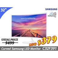 SAMSUNG C32F391 | C32F397 32inch Curved FHD Monitor (only White Color)