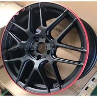 全新類AMG式樣BENZ 5孔112 18吋鋁圈W203/W205/W211/W212/W213/CLA45/W176