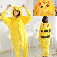 lsp Adult Kids Pikachu Costumes Animal Cosplay Pokemon Pikachu Jumpsuit  Anime Hoodie Pajama Set Halloween Party Show