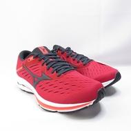 Mizuno WAVE RIDER 24男款 4E楦 ENERZY慢跑鞋 J1GC200417 紅【iSport愛運動】