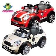 Ching Ching * Mini Cooper 仿真電動車 兒童電動車 可遙控 聖誕禮物 新年禮物 - 附發票