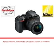NIKON  D5600  WITH  KIT   [18-55]  FREE 32GB ULTRA CARD & BAG CAMERA & TRIPOD